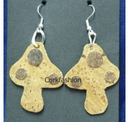 Earrings (LC-820 model) from the manufacturer 3Dcork